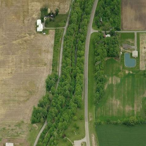 Miami and Erie Canal Deep Cut in Spencerville, OH (Google