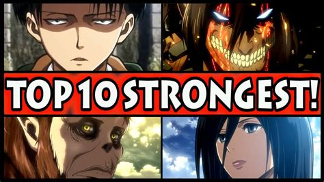 Most Popular Character In Attack On Titan