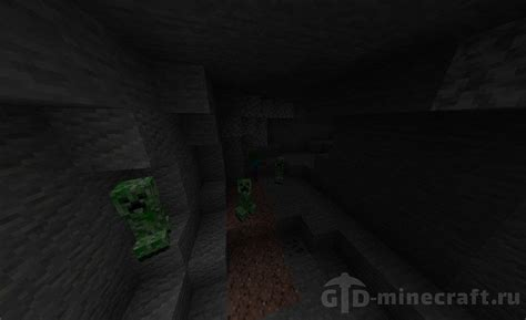 Zombie Village with Forge and Cave Seed for Minecraft 1