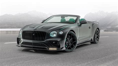Mansory Bentley Continental GT V8 Convertible 2020 2