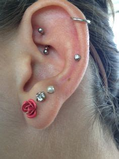 Different types, Piercing and Tragus on Pinterest