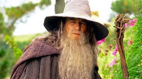Watch a guy dressed like Gandalf try to stop people from