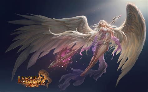 League of Angels Fortuna Beautiful girl video game