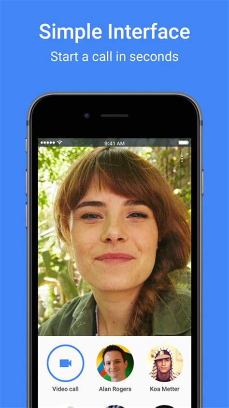 Google Duo - simple video calling for iOS - Free download