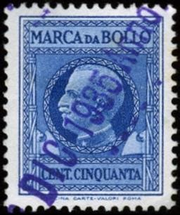 Revenue stamps of Italy - Wikipedia