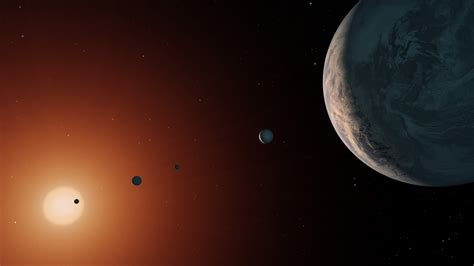 Can Trappist-1 host alien life? Two planets of the distant