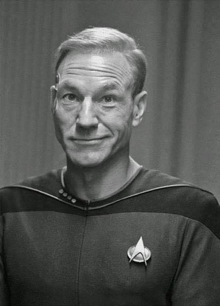 Do you think the selection of Patrick Stewart as captain