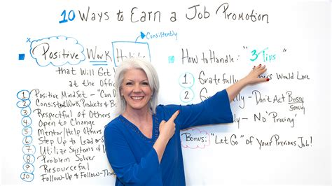 10 Ways to Earn a Job Promotion - ProjectManager
