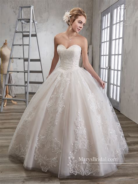 Bridal Wedding Dresses | Style - 6583 in Champagne, Ivory