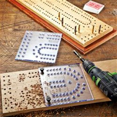 Rockler Introduces New, XL Cribbage Board Template Kit and