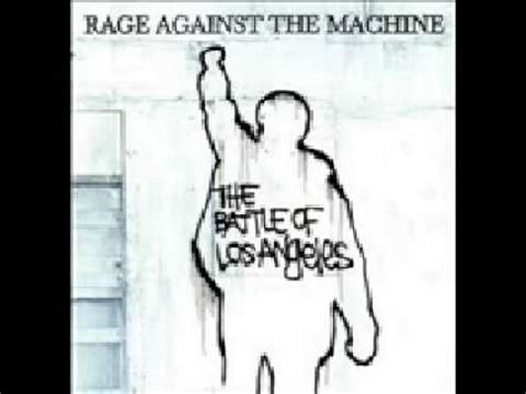 Rage Against The Machine The Battle Of Los Angeles Testify