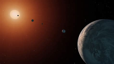 TRAPPIST-1 Planetary System Could Be 10 Billion Years Old