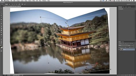 Perspective Warp in Photoshop CC - YouTube