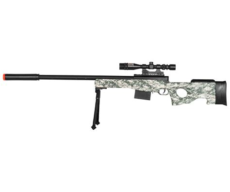 UKARMS L96 Bolt Action Airsoft Sniper Rifle w/ Scope