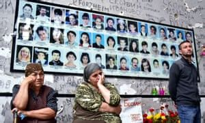 Beslan mothers detained over anti-Putin protest at