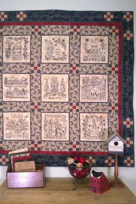 Home and Heart Quilt Pattern | Sew Enchanting