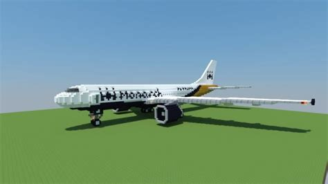Airbus A300-600   Monarch Airlines – Minecraft Building Inc