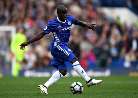 Chelsea midfielder N'Golo Kante named PFA Player of the Year