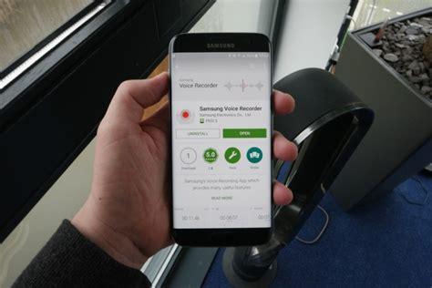 Samsung's voice recording app for the Galaxy S7 is on the