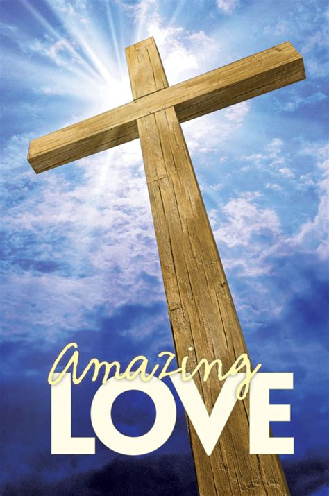 Amazing Love LightBox Graphic - Church Banners - Outreach