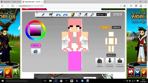 Minecraft Skindex-How to edit/download skins - YouTube